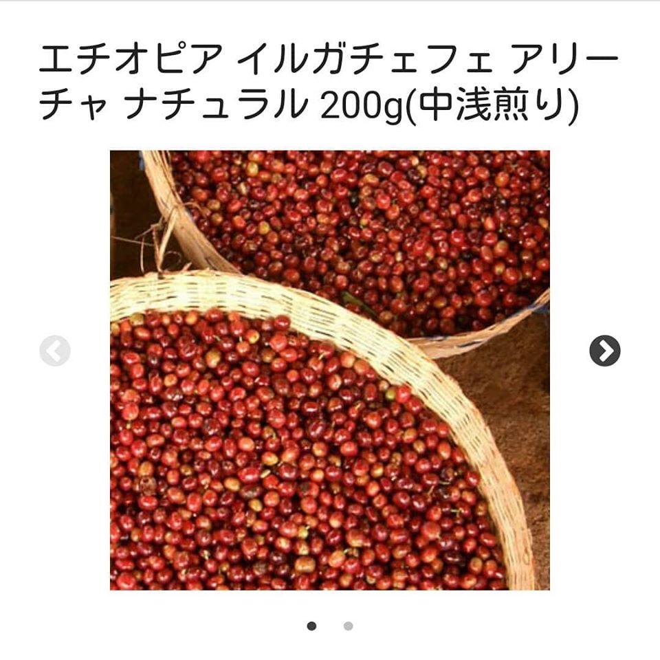 喫茶路地オンラインショップ エチオピアイルガチェフェ アリーチャ